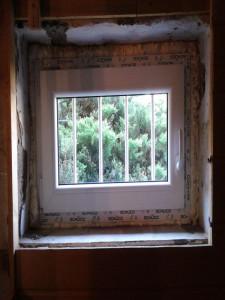Kellerfenster innen