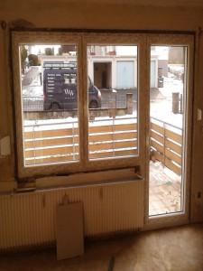 SCHÜCO FensterBalkontür Kombi
